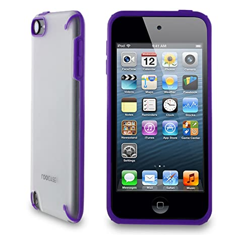 Amazon.com: rooCASE Fuse (Frost/Purple) Snap-On Shell Case ...