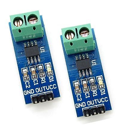 Sensor Blocks DAOKI 5PCS 30A Range Current Sensor Module