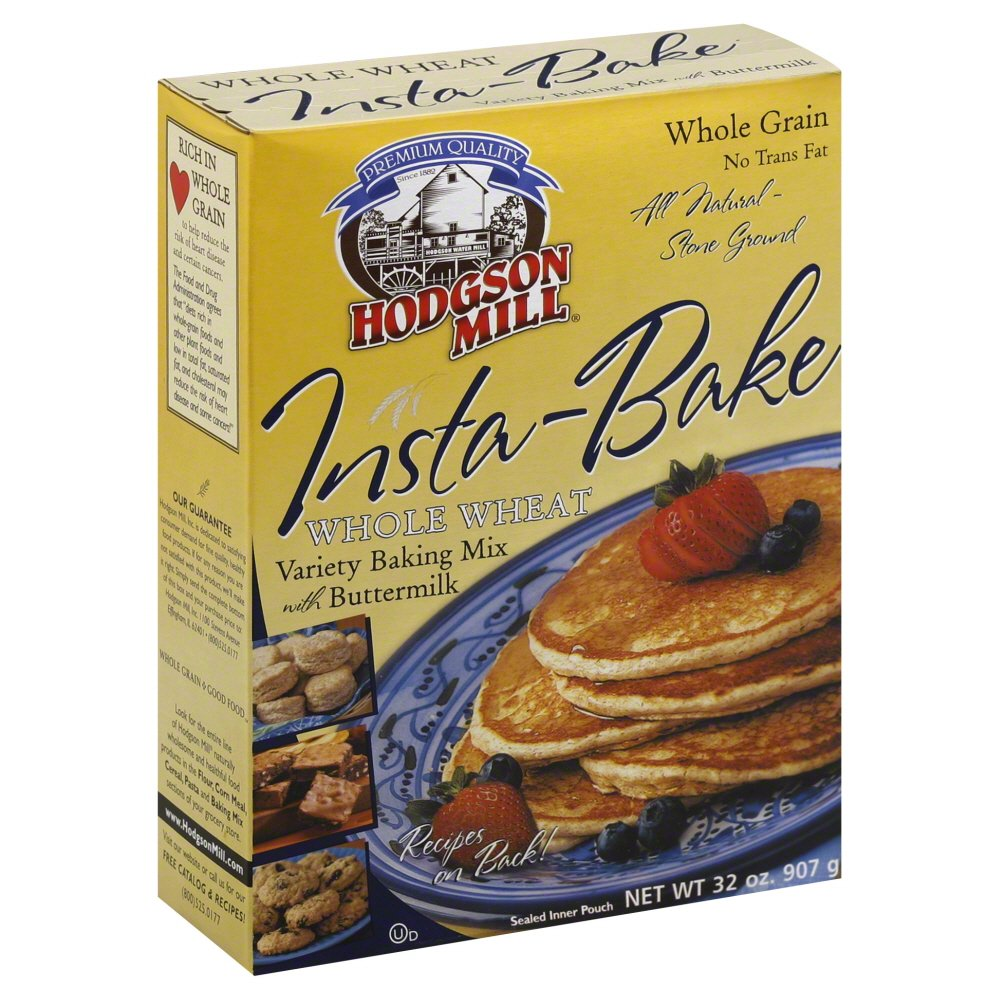HODGSON MILL MIX INSTABAKE WHL WHEAT, 32 OZ Pack of 6
