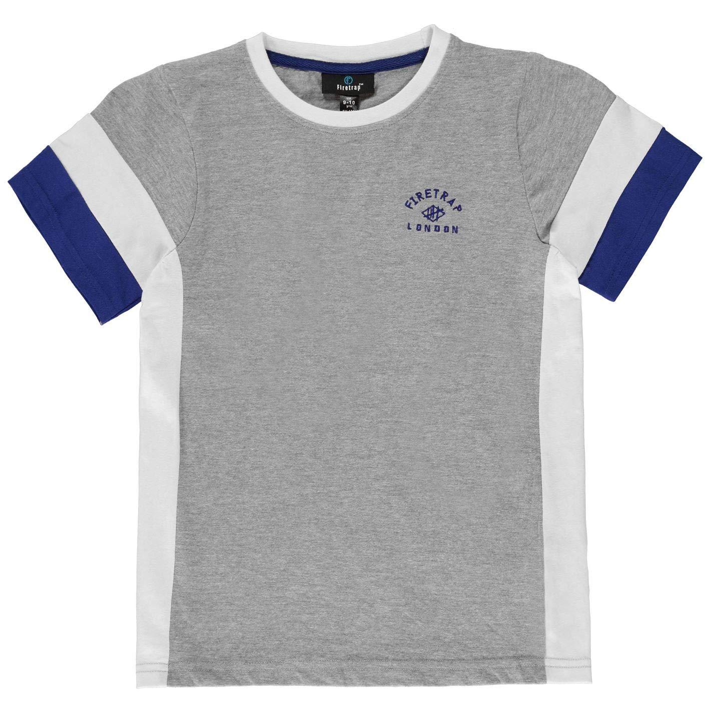 Firetrap Kids Boys Sub T Shirt Junior Crew Neck Tee Top