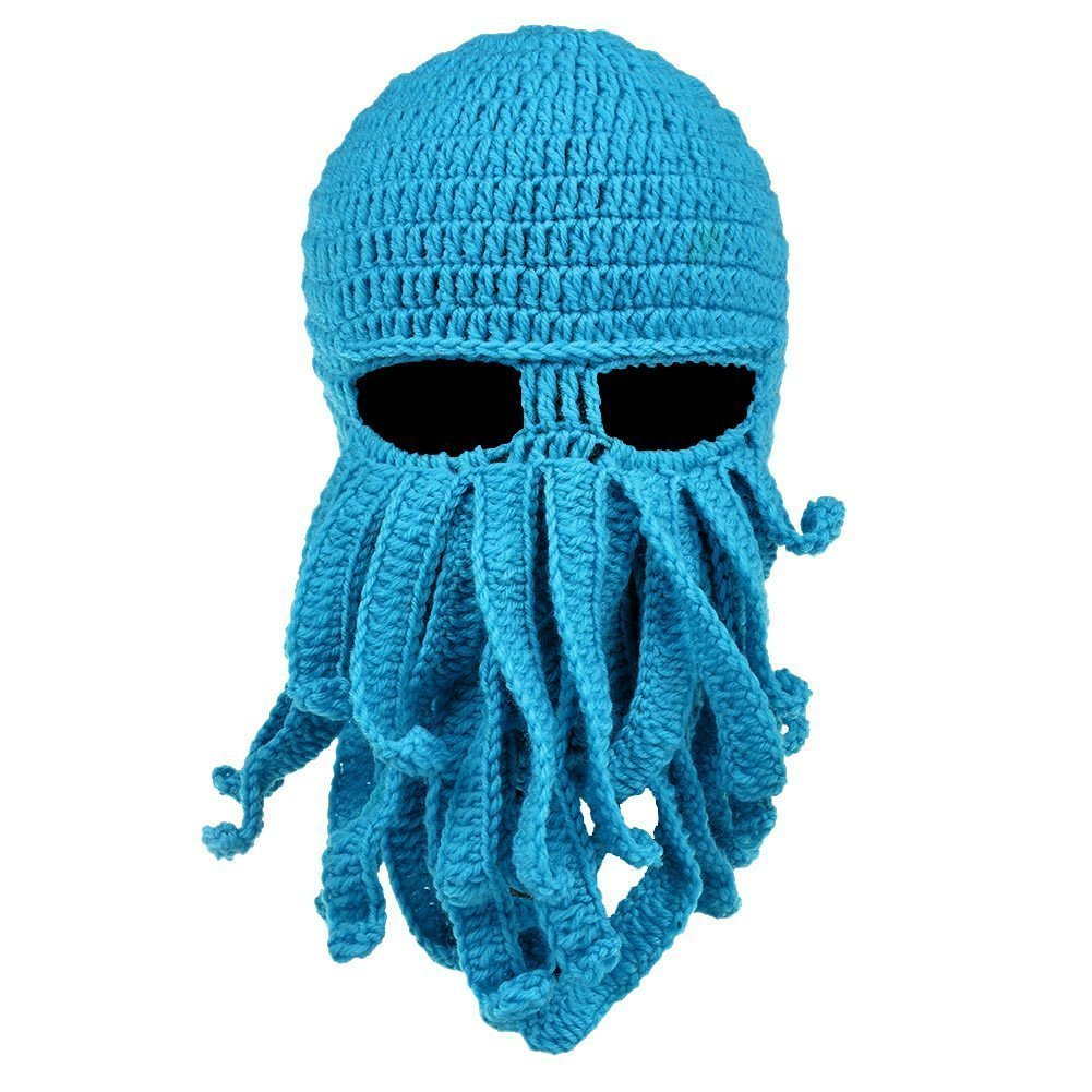 74c935434c292 ... Beanie Hat Knit Hat Winter Warm Octopus Hat Windproof Funny for Men    Women. Wholesale Price 9.69. Stylish knit ski mask in octopus shape with  tentacles