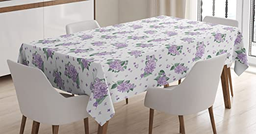 PINK TULIP FLORAL GREEN LEAVES LAVENDER PVC PLASTIC OIL VINYL TABLE CLOTH COVER