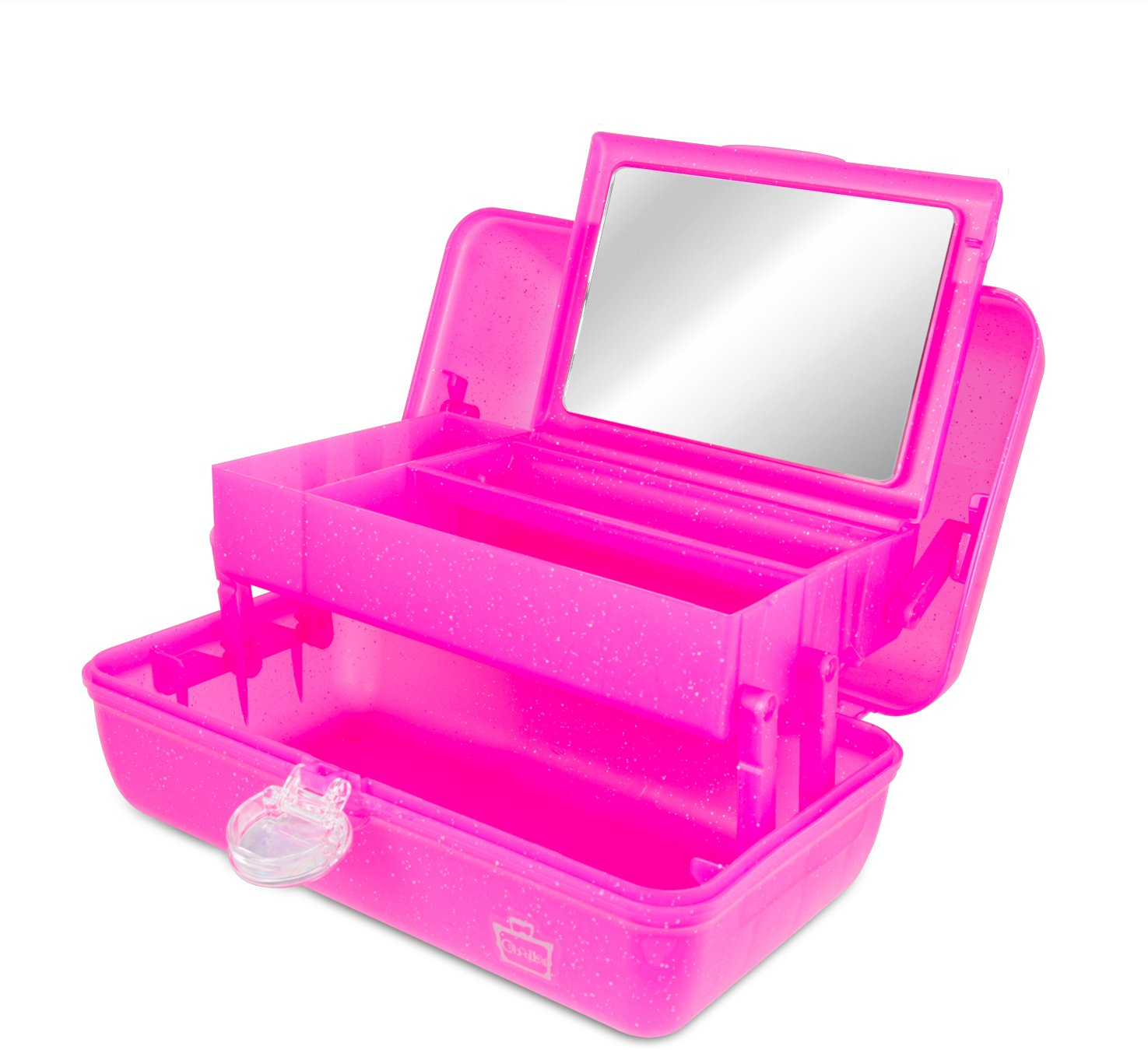 Caboodles On The Go Girl Classic Case, Pink Sparkle, 2.4 Pound by Caboodles (Image #2)
