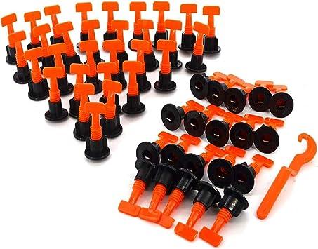 cu/ñas espaciadores de nivelaci/ón de Azulejos baldosas para Piso de Pared Xueliee Nivelador de posicionamiento de Azulejos en Forma de T