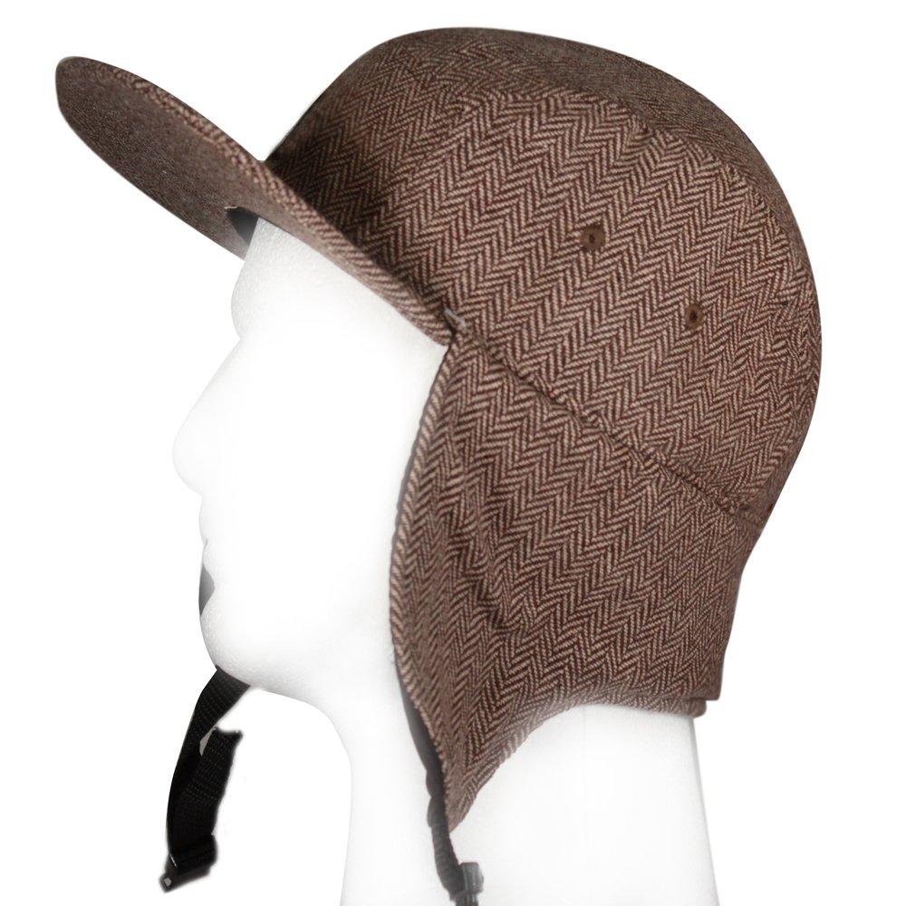 City Hunter Cn550p Unisex 5 Panel Hat with Ear Flap - 3 Colors
