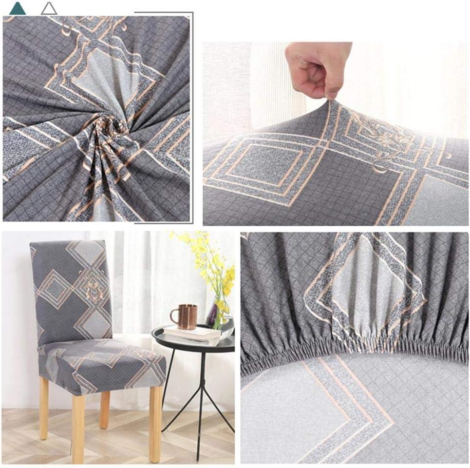 Blentude Accueil de Remplacement Housse de Chaise Universelle Extensible Chair Cover Accueil H/ôtel Mariage Fauteuil Extensible Couverture