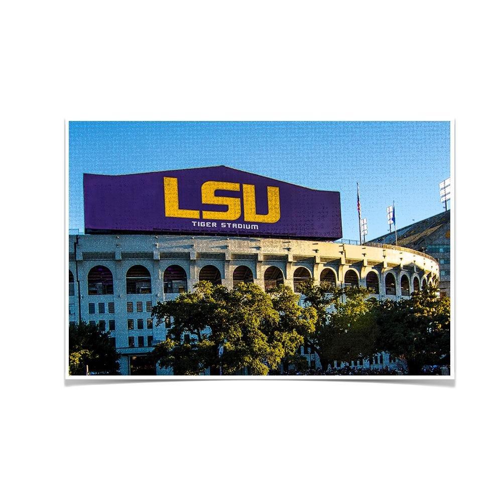 LSU Tigers ''LSU Tiger Stadium'' Wall Art