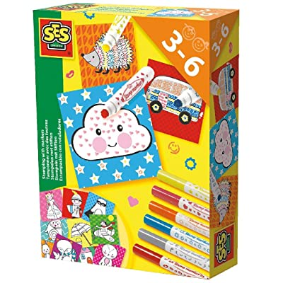 SES 14896 Stamping with Markers: Toys & Games