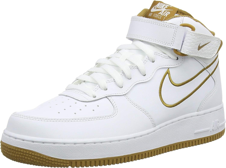 Nike Herren Air Force 1 Mid '07 Leather Sneakers