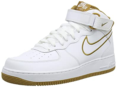NIKE Men's Air Force 1 Mid Leather Casual Shoes: Amazon.ca