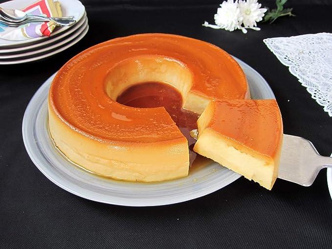 Cake - Bizcochera con Tubo - Acero al Carbono - Antiadherente -: Amazon.es: Hogar