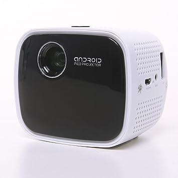 amazon com icodis cb 100 dlp led projector smart beamer with