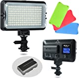 VILTROX VL-162T CRI95+ LED Video Light, Portable Camera Photo Light Panel Dimmable for DSLR Camera Camcorder with…