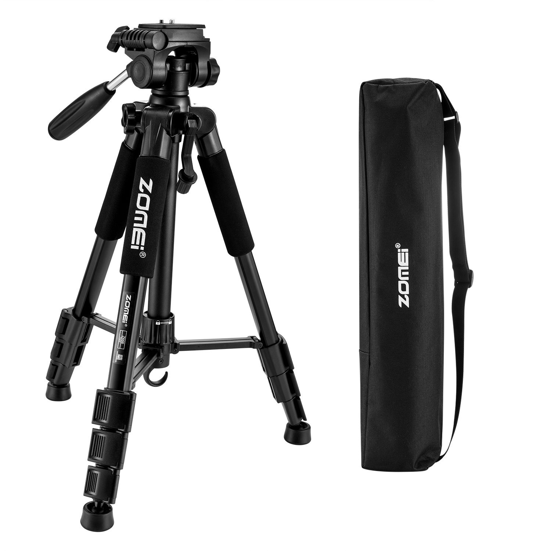 ZOMEi Z Trípode Viaje Ligero Para Cámaras Reflex Canon Nikon Sony Fuji