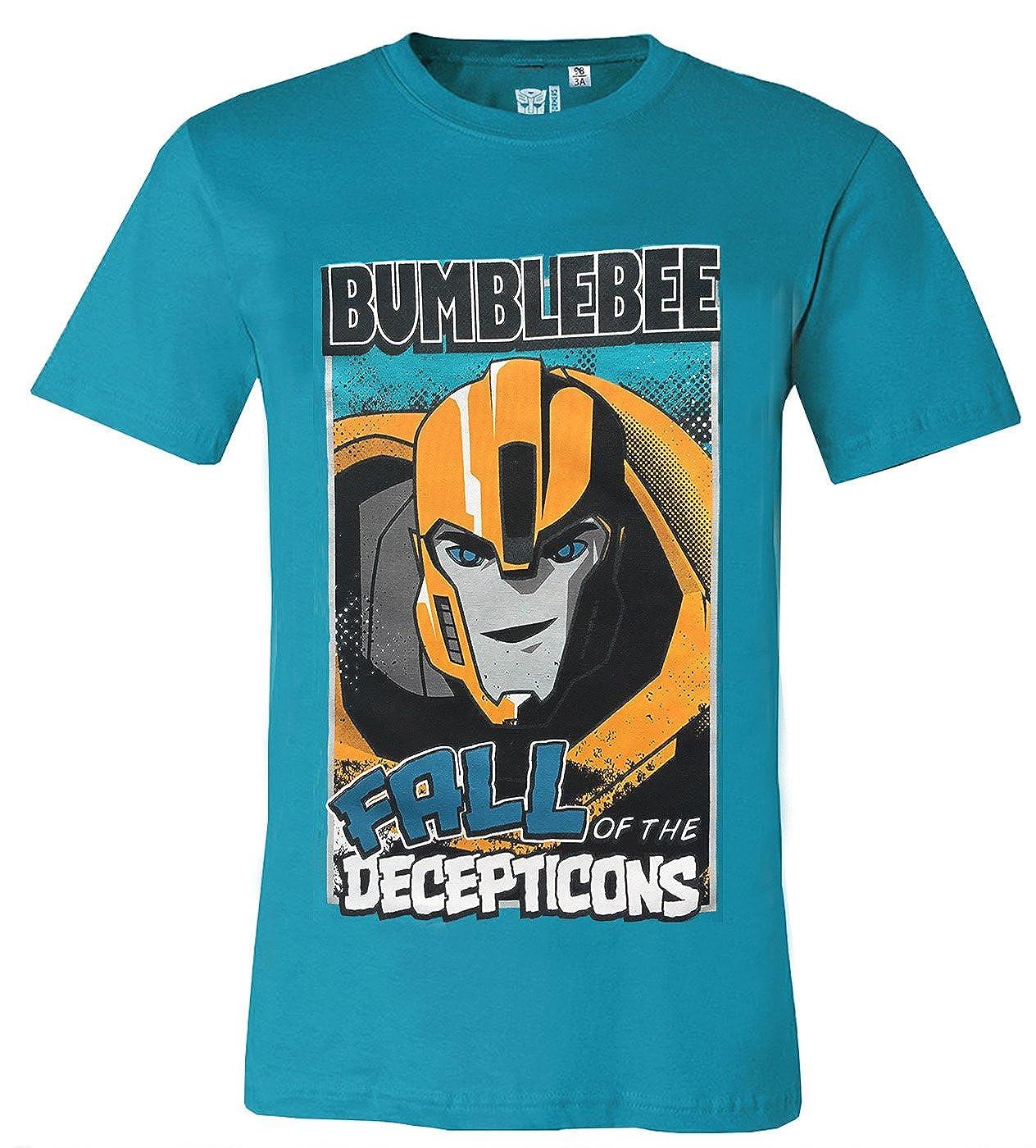 Bumblebee Cotton Black Jujak Boys Transformers T Shirt