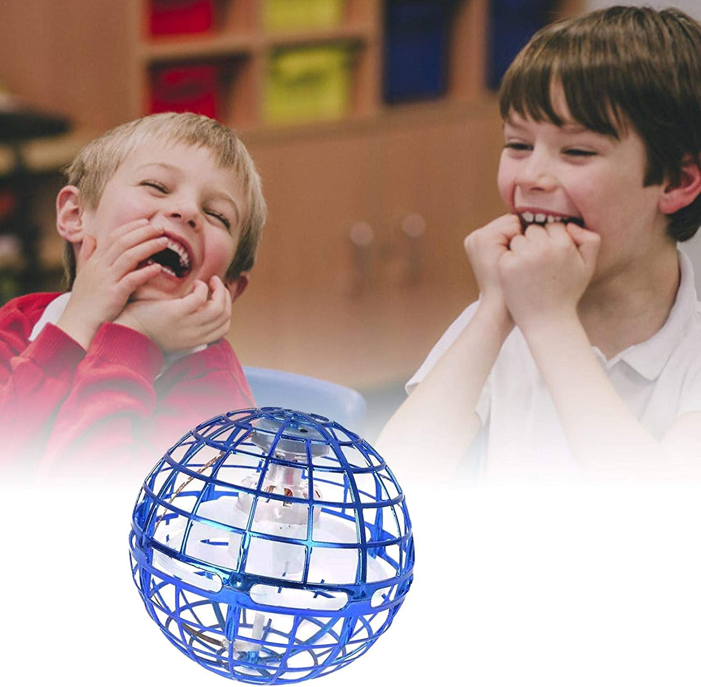 Flynova Pro Spinner Flying Toy Enfants Adultes Familles Makeover Ballon Flynova Pro Jouet Volant Flynova Pro Ball Boule Volante Flynova Pro avec Lumi/ères LED Rotatives /À 360 /° pour Enfants