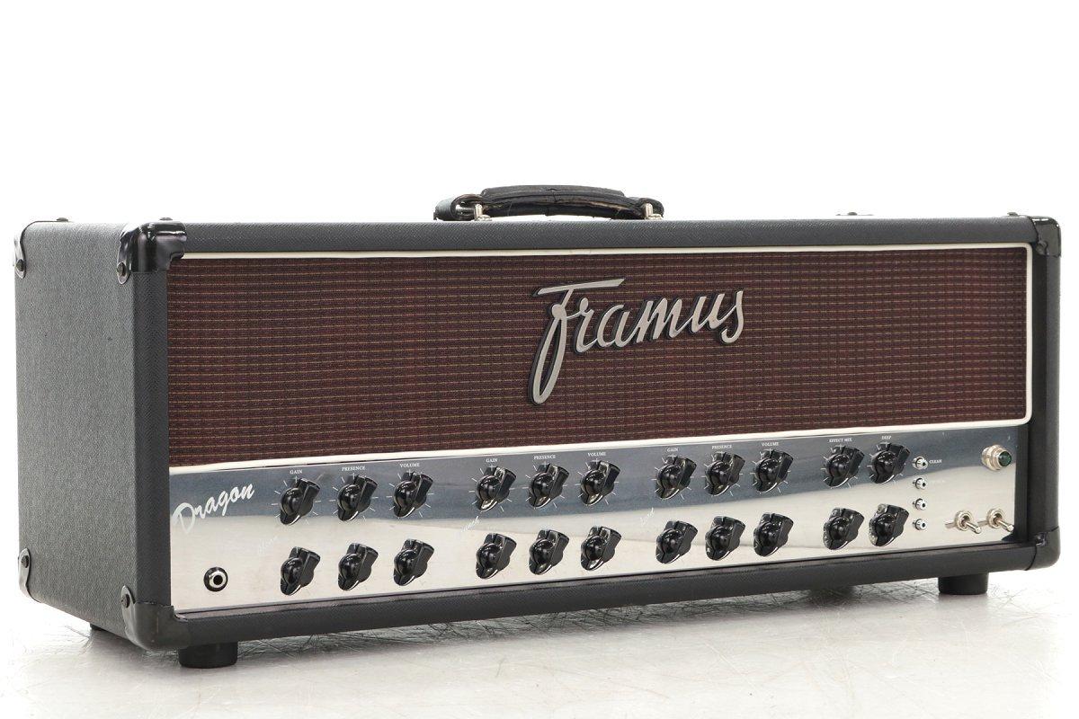 Framus/Dragon 100W オールチューブ ギター用ヘッドアンプ フラマス B01N800J08