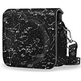Fintie Protective Case Compatible with Fujifilm Instax Square SQ6 Instant Film Camera - Premium PU Leather Bag Cover with Rem