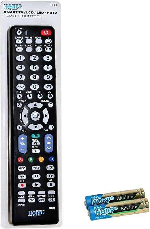 HQRP Mando a Distancia para Samsung J6200; UE32J6200AK, UE40J6200AK, UE48J6200AK, UE50J6200AK LED Full HD Smart TV: Amazon.es: Electrónica
