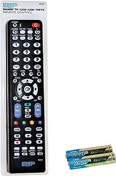 HQRP Mando a distancia para Samsung JU6400; UE40JU6400K, UE48JU6400K, UE50JU6400K, UE55JU6400K UHD Smart TV: Amazon.es: Electrónica