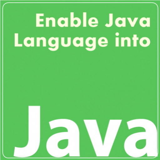 Enable Java Language Into