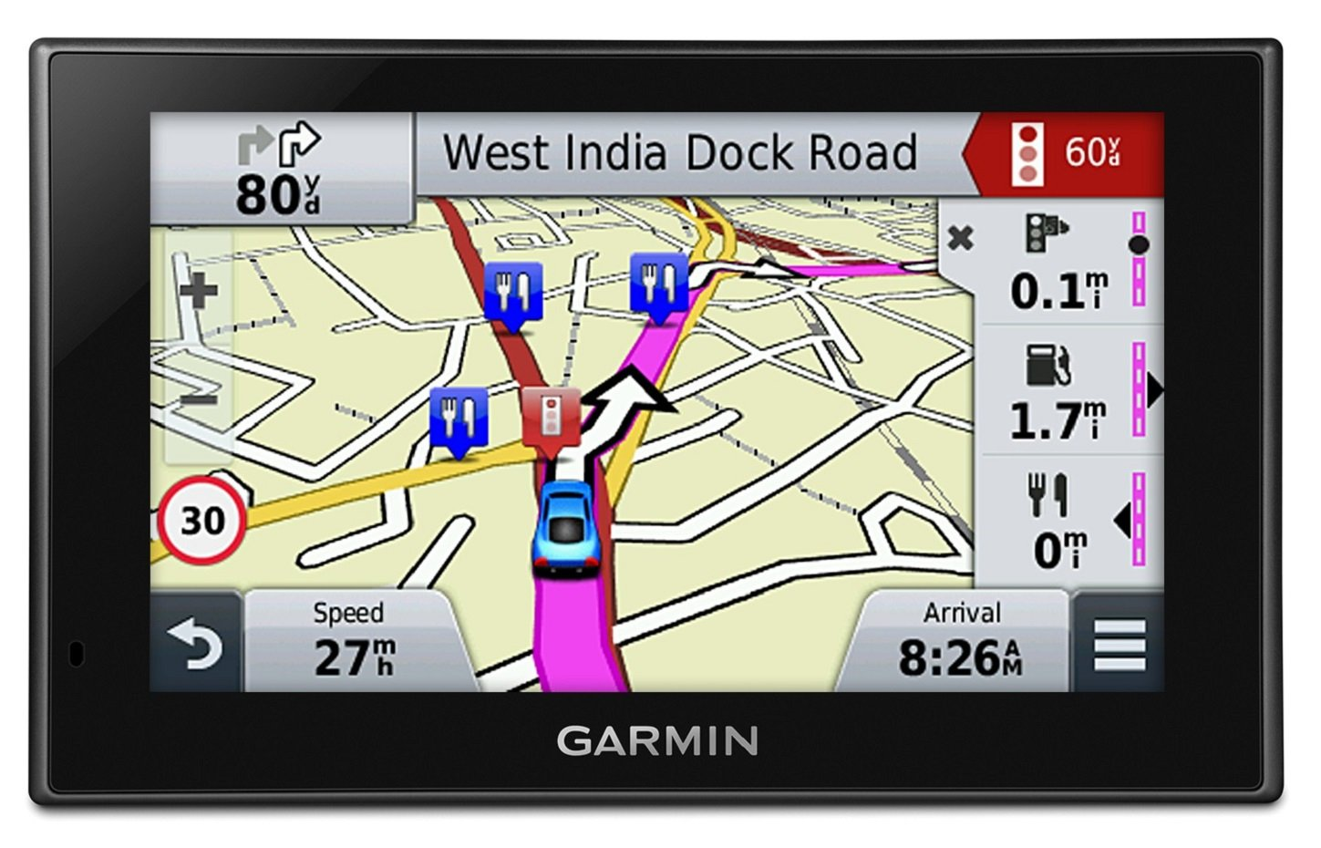 Garmin Nuvi 2599LMT-D Sat Nav Free Lifetime Map Updates for UK and Full Europe, Digital Traffic and Bluetooth 5 inch