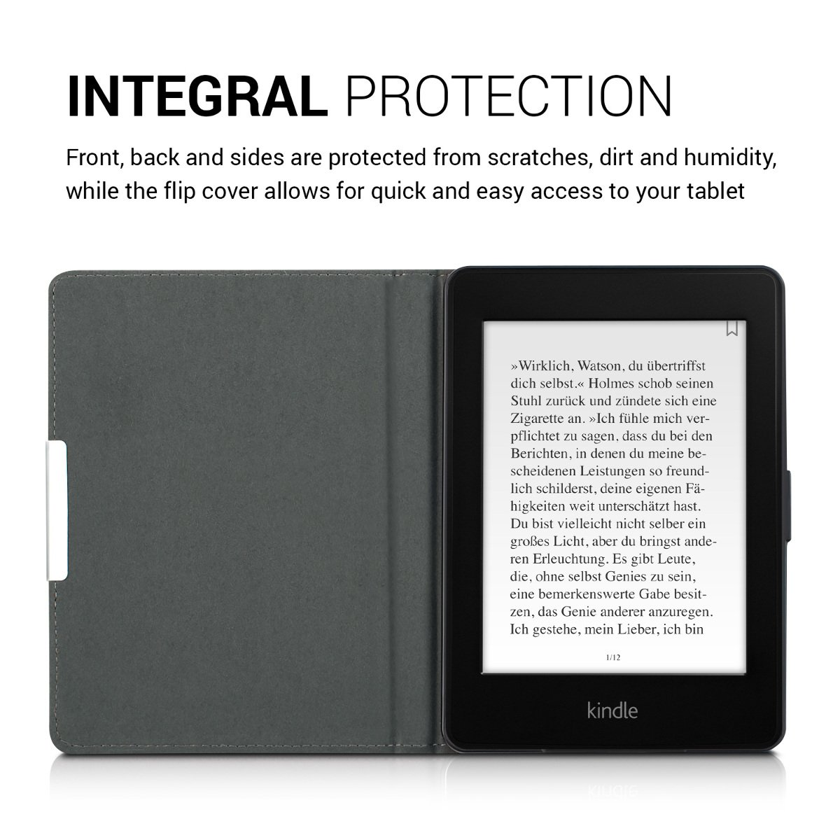 kwmobile Funda para Amazon Kindle Paperwhite - Carcasa de e-Reader ...