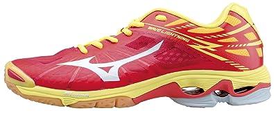 37aca0aa11ee6 Mizuno Wave Lightning Z Men's Volleyball Shoe Red-Bolt