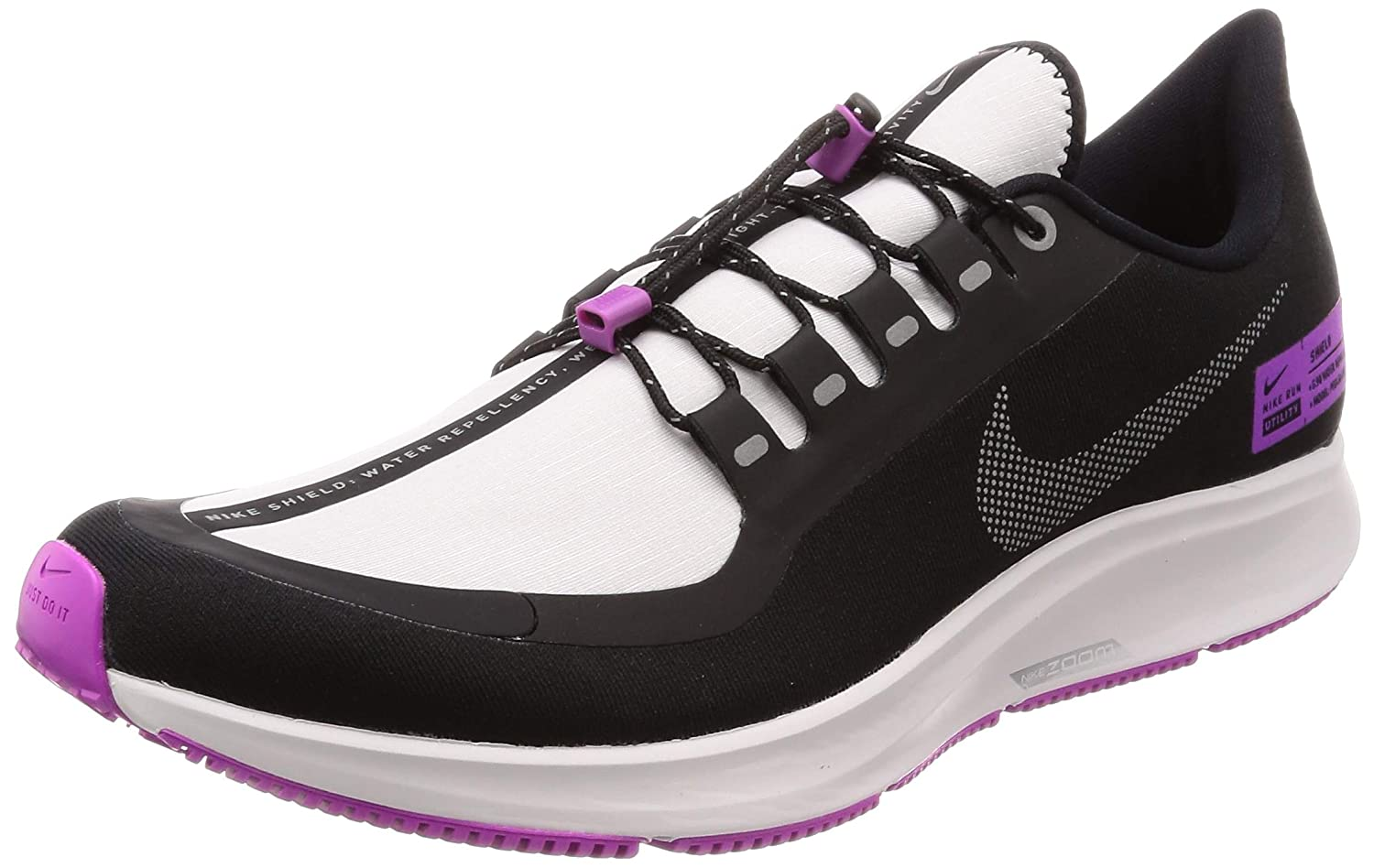 best service 4959c ea348 Amazon.com | Air Zoom Pegasus 35 Shield Nrg (Black ...