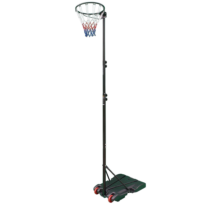 Sure Shot Basketball Easy Assemble Post Ring Net Base Indoor-outdoor Netball Set