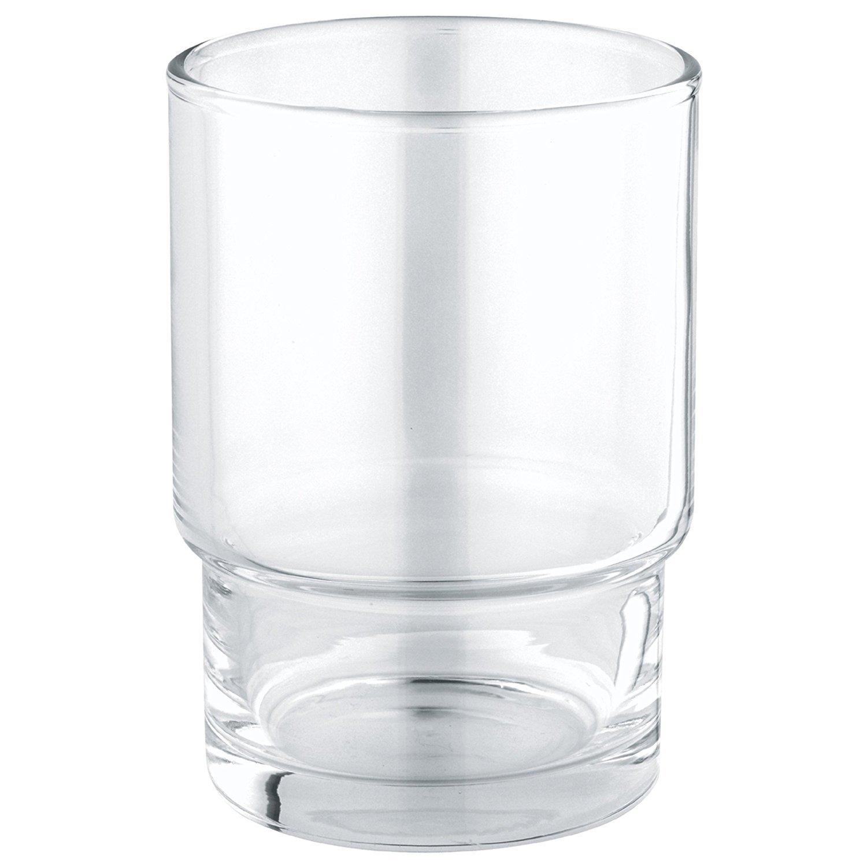 GROHE Bicchiere in Vetro Essentials Cromo 40372001