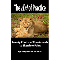 The Art of Practice: Twenty Photos of Zoo Animals to Sketch or Paint (Animals: Zoo Animals Book 1) (English Edition)