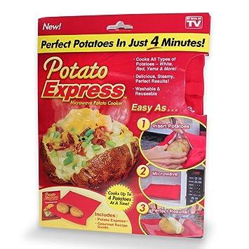 Patatas Express Cocina Tela de poliéster bolsa, Bake ...