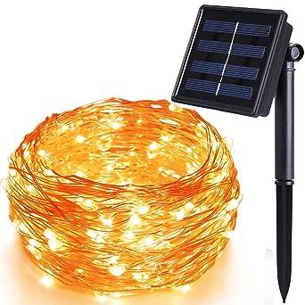 LED lichterketten LED Solar Lichter LED Solar Lichterkette ...