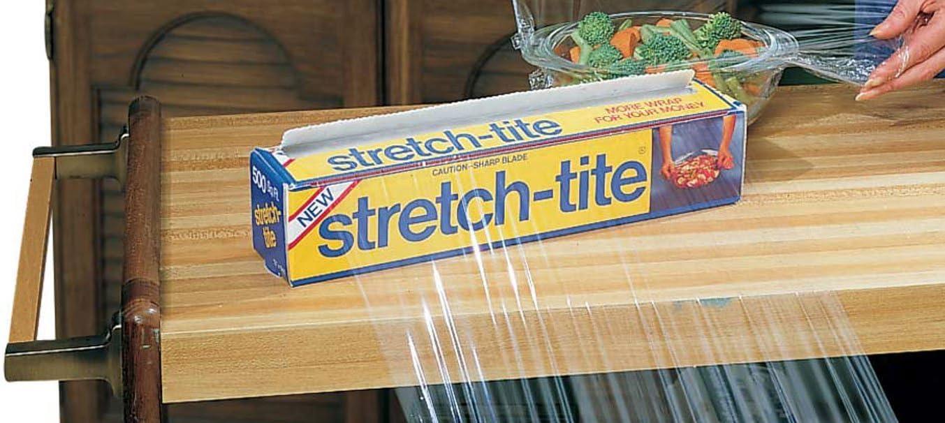 Miles Kimball Stretch-Tite Premium Plastic Food Wrap