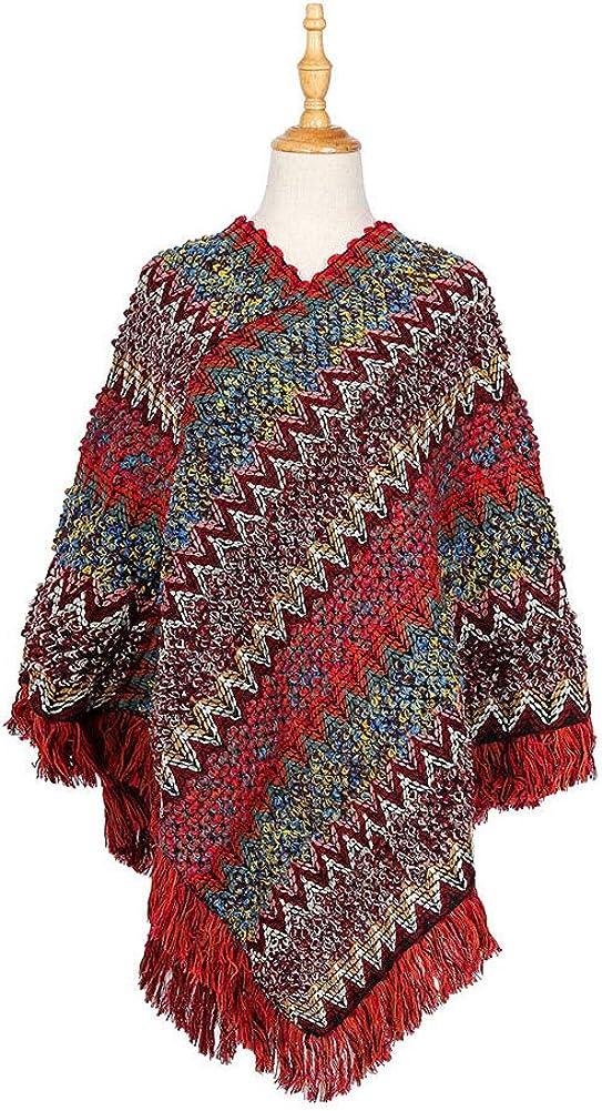 FEOYA 3 Pezzi Set Combo Invernale Sciarpa e Berretto e Guanti in maglia