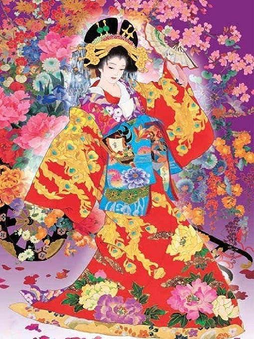 Puzzle 1500 Piezas Geisha Japonesa Hecho De Tablero De Madera No Se Deformará: Amazon.es: Hogar