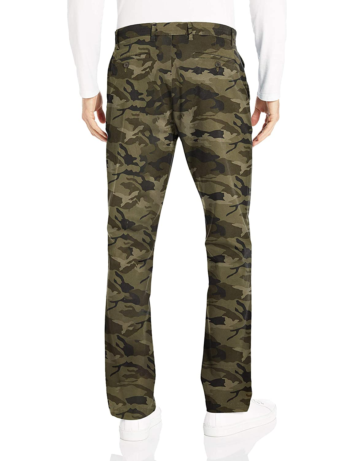 Marque Goodthreads Athletic-fit Washed Chino Homme
