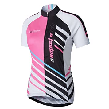 Someet Summer Cycling Jersey - Breathable Shirts Comfortable 3D Cushion  Quick Dry Road   Mountain Bike Clothing - Short Sleeve Cycle Clothes for Men  - Full ... b275aaf8b