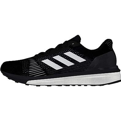 7ebd3dd0e adidas Solar Drive ST Mens Structured Running Trainer Shoe Black White - UK  7