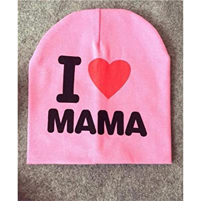 0-3 Years Baby Hat I Love Mama Papa