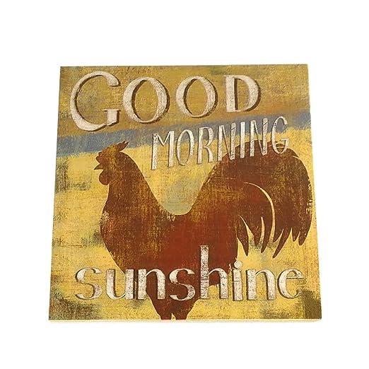 Amazonde Masterein Retro Hen Guten Morgen Sonnenschein