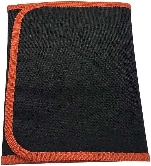 Estuche redondo enrollable para lápices, lápices, pinceles para colorear para adultos, lienzo plano: Amazon.es: Hogar