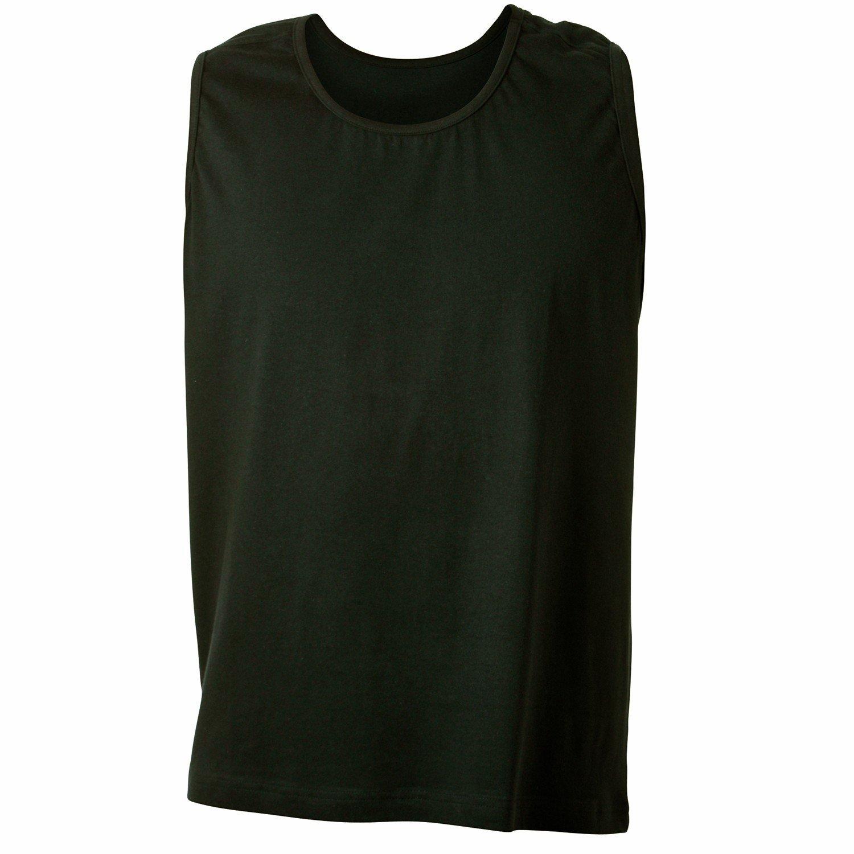 ADAMO - Camiseta - Básico - Sin mangas - para hombre