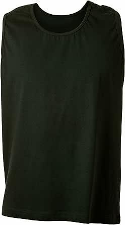 Adamo Camiseta Negra Extra Larga Oversize