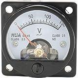 Klasse 2,5 Genauigkeit DC 0–1 A 0–5 A 0–10 A Ampere Analog Panel Meter