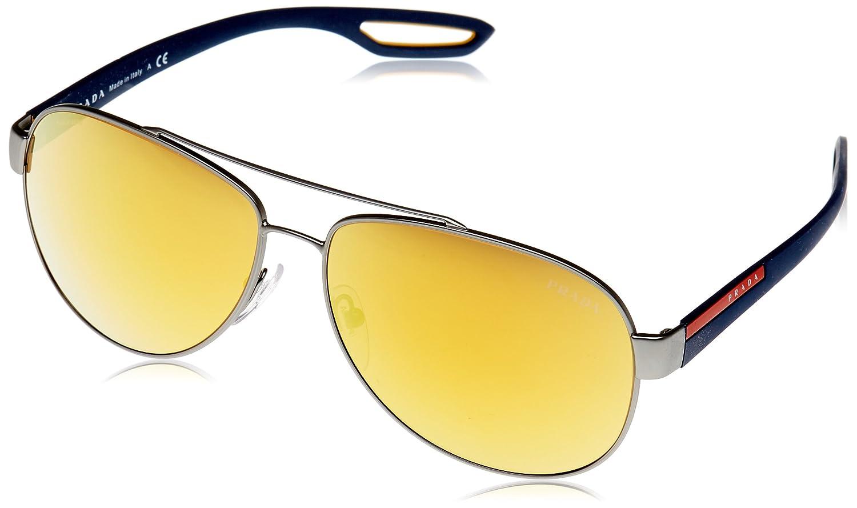 Prada Sport PS55QS DG15N0 62 gafas de sol, Gris (Orange ...