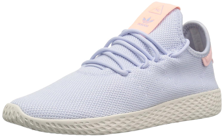 adidas Originals Women's Pw Hu Tennis Shoe B077X8C5CX 6 B(M) US|Aero Blue/Aero Blue/Chalk White