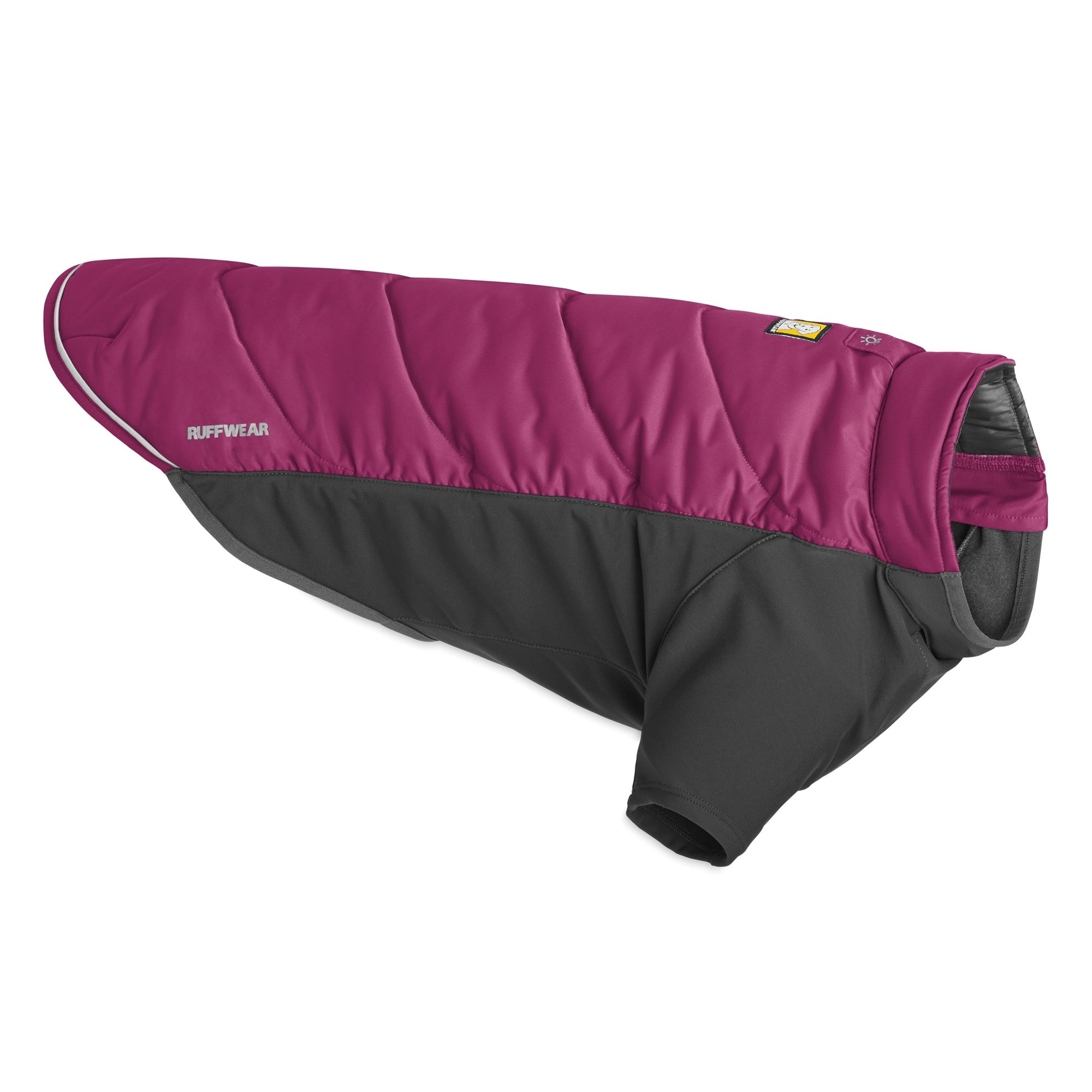 RUFFWEAR - Powder Hound Hybrid Insulation Jacket for Dogs, Larkspur Purple, Large