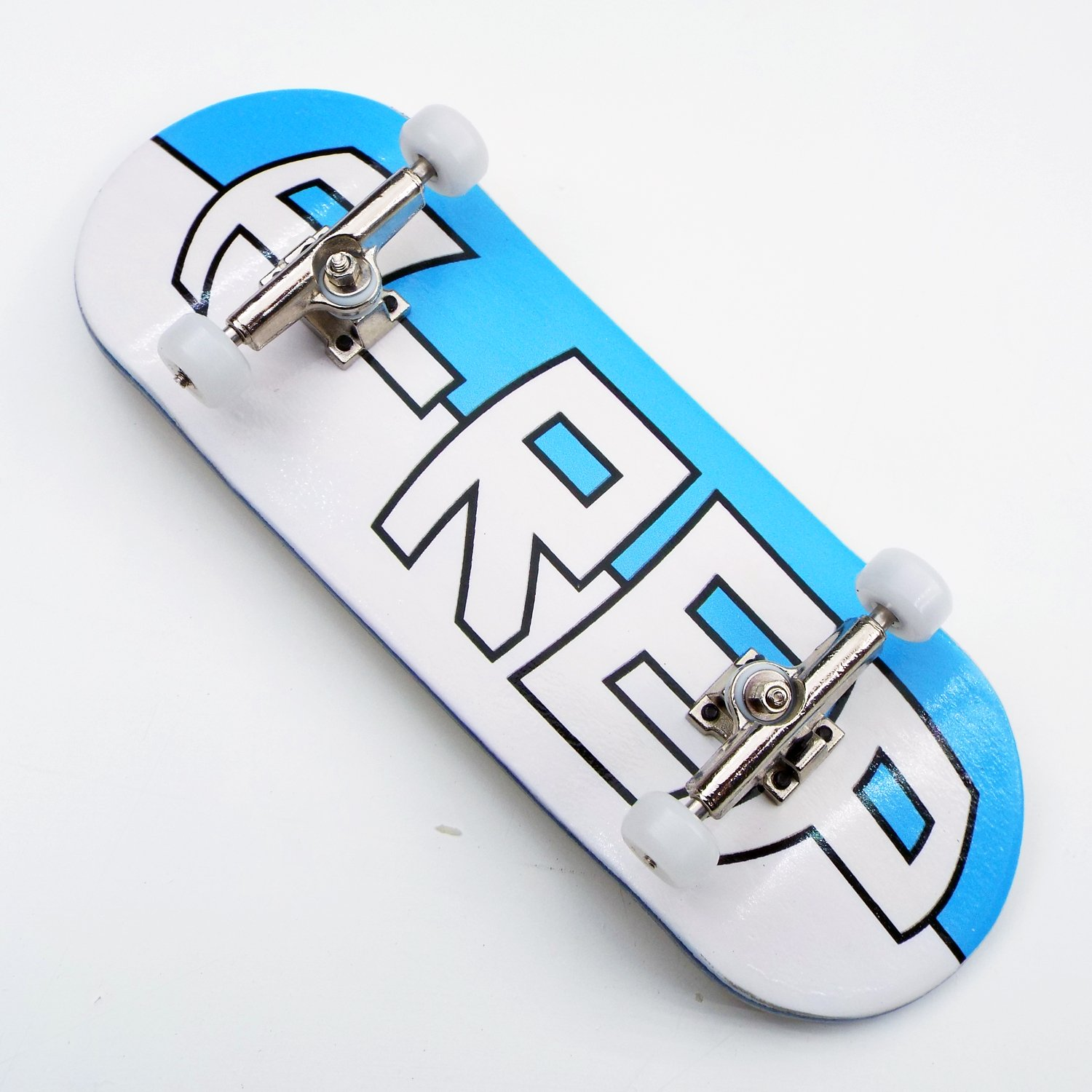 Peoples Republic P-Rep Large Logo 34mm Complete Wooden Fingerboard w CNC Lathed Bearing Wheels … by Peoples Republic (Image #2)